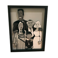 The Munsters 3D Art