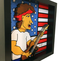 Bruce Springsteen 3D Art
