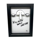 Kilroy Was Here 3D Art