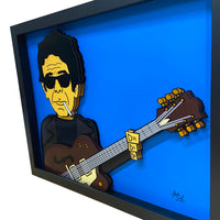 Lou Reed 3D Art