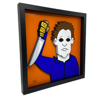 Michael Myers 3D Art