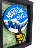 Carousel of Progress Niagara Falls Sign 3D Art