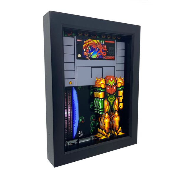 Super Metroid 3D Art