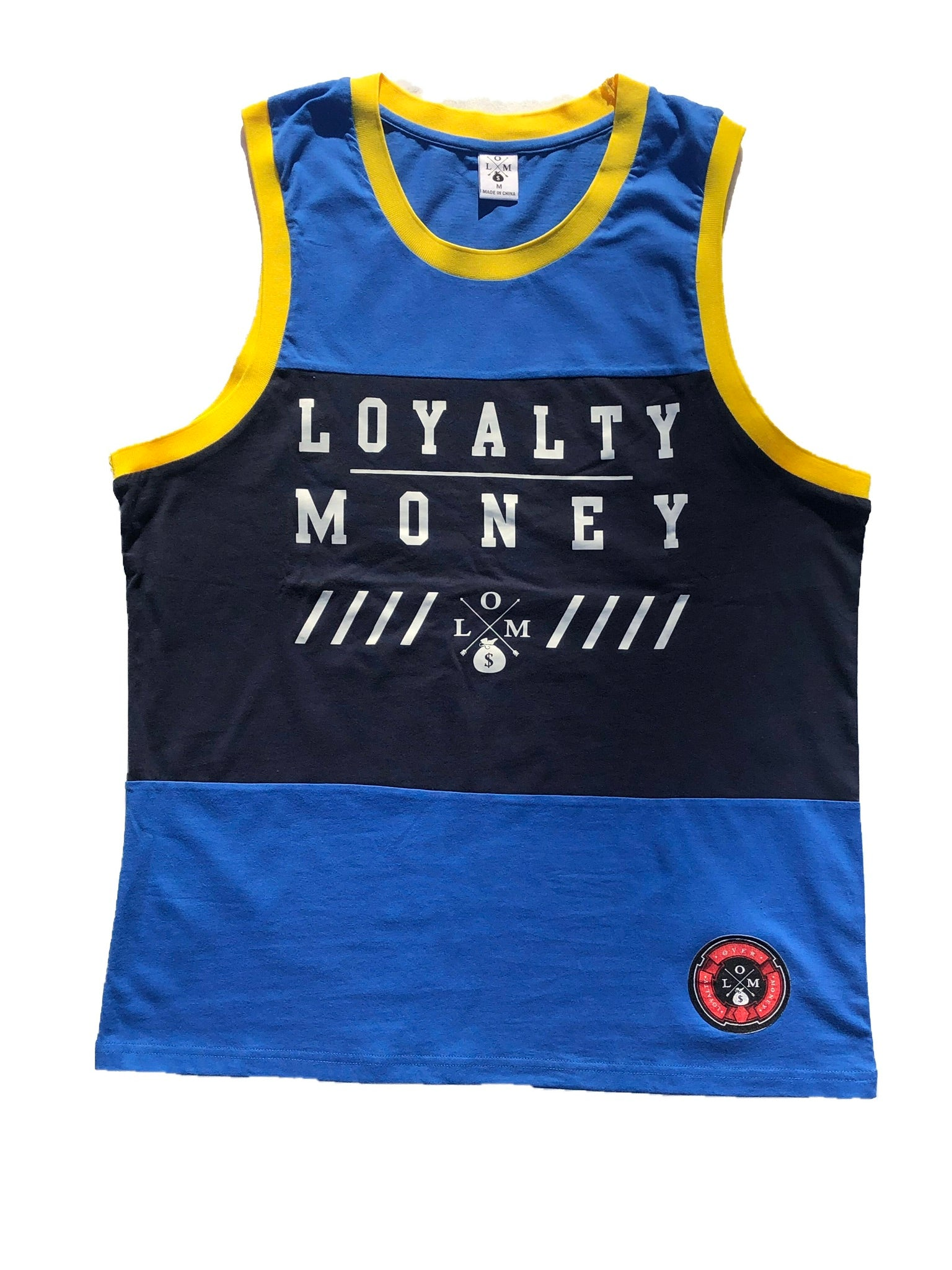 LOYALTY OVER MONEY TANK TOPS