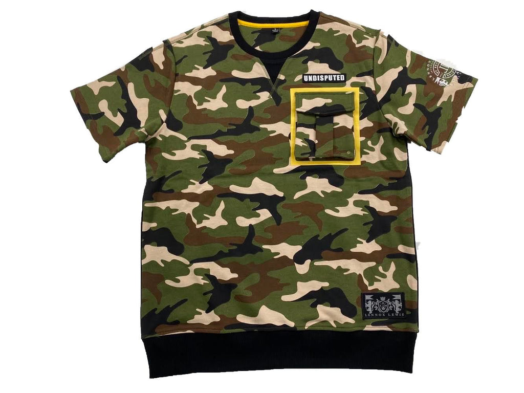 """UNDISPUTED""CAMO CARGO SHIRTS"