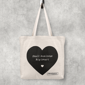 Tote Bag - Small Business Big Heart