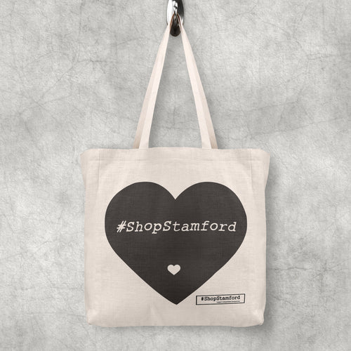 Tote Bag - #ShopStamford