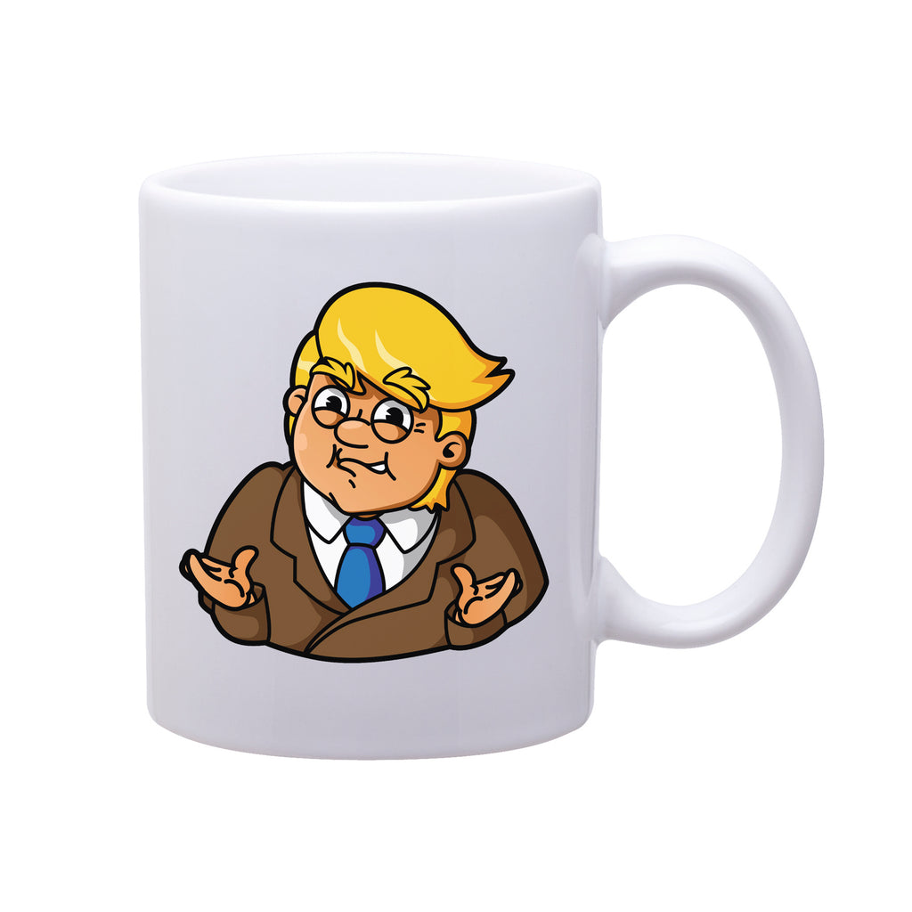 The Cute Trump Smug Shrug Mug
