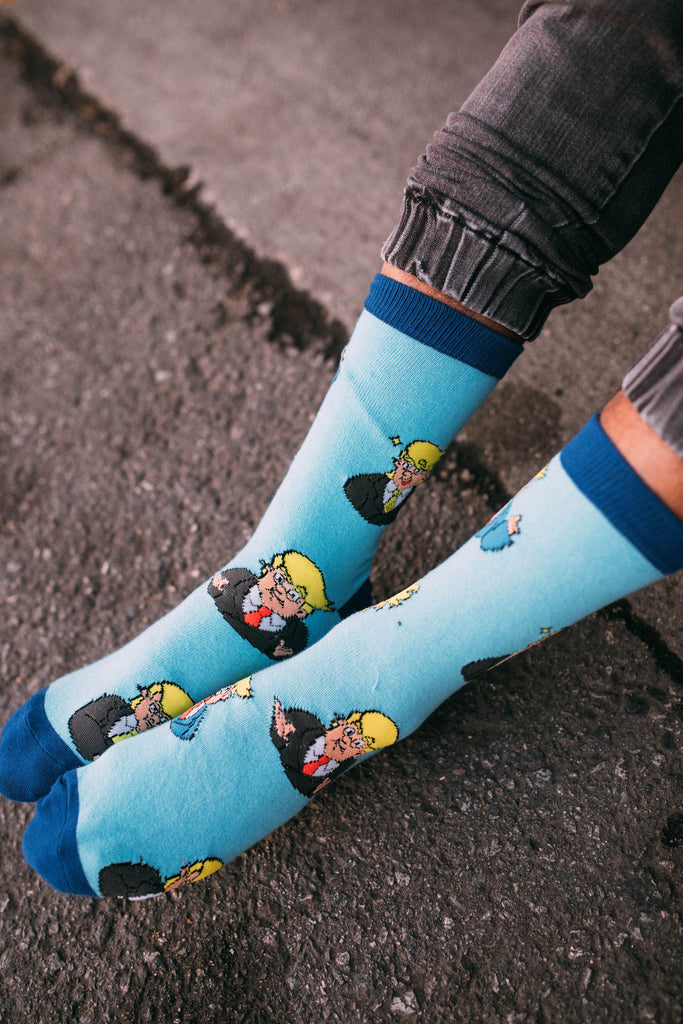 Tiny Trumps With Tiny Hands Crew Socks