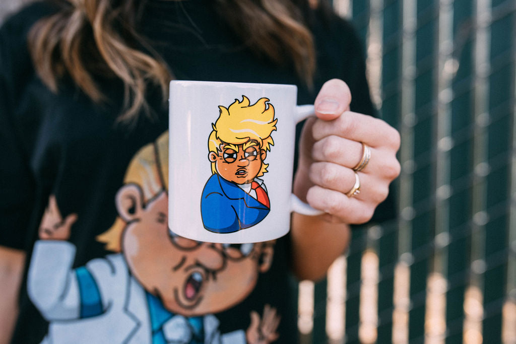 The Cute Confused Trump Mug