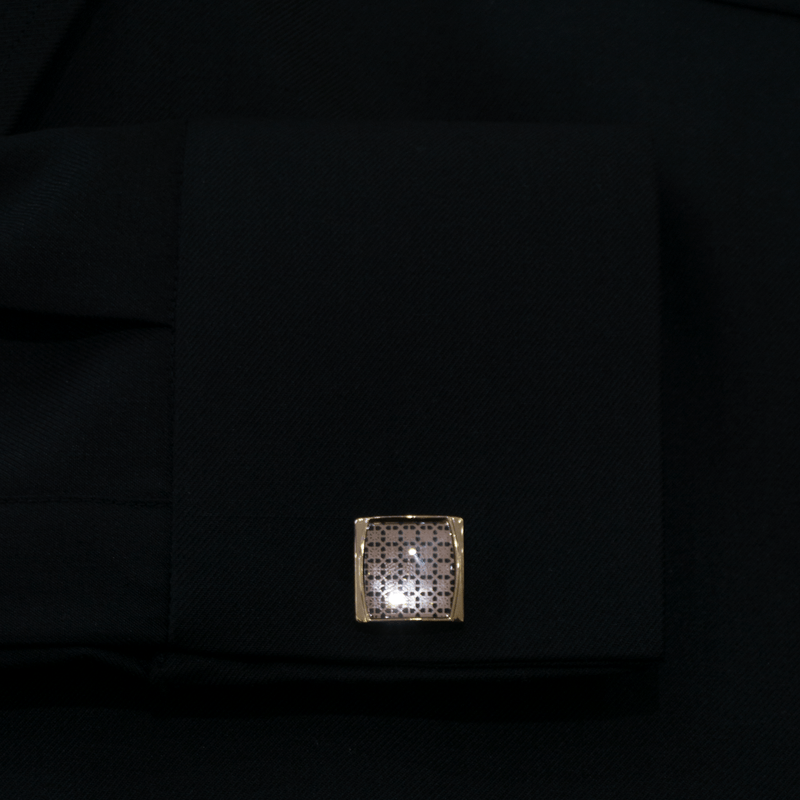 QATARI PEARL COLLECTION BLACK KANDORA
