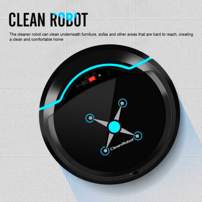 Automatic Robot Vacuum Floor Cleaner Self Cleaning