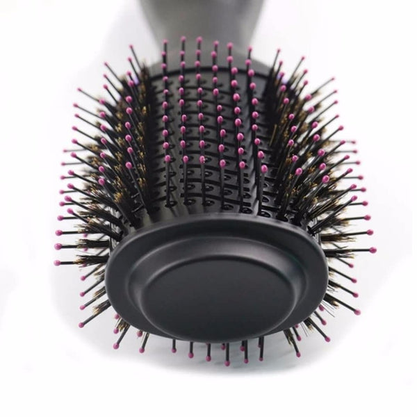 round brush hair dryer