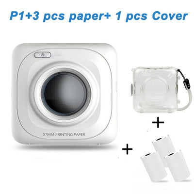 Portable Mobile Photo Printer Bluetooth