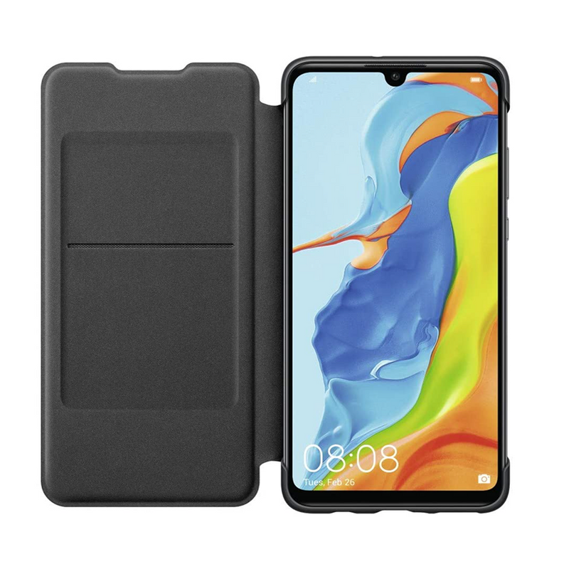 Wallet Cover Huawei P30 Lite - Black
