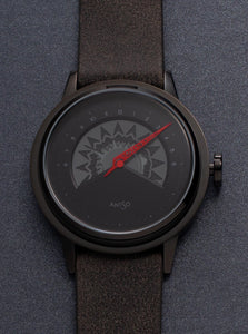 UNI DARK FIRE - grey + dark band
