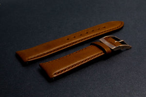 Leather watch band (extra length)