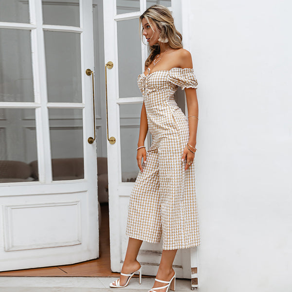 Off Shoulder Jumpsuit Eli