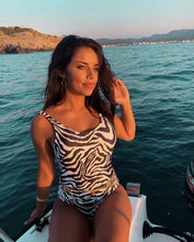 Afbeelding in Gallery-weergave laden, Zebra Print Swimsuit-Daily Instyle