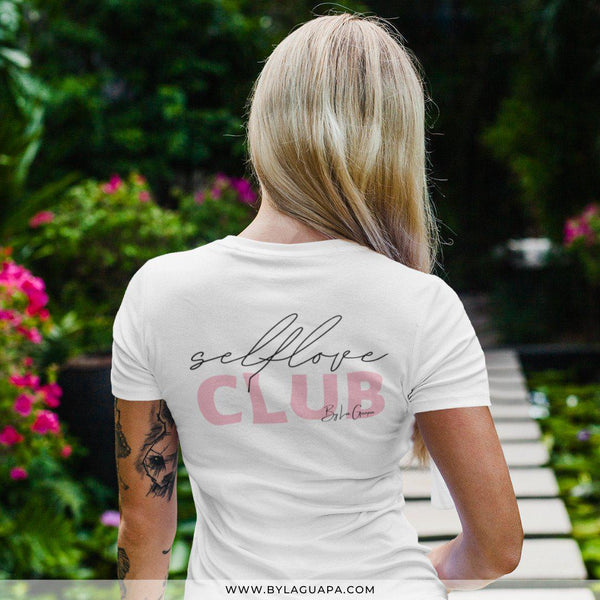 Selflove Club Tee White