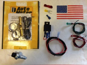Dfuser 1001068 Low Coolant/Water/Oil/Fuel Pressure Warning Kit with LED