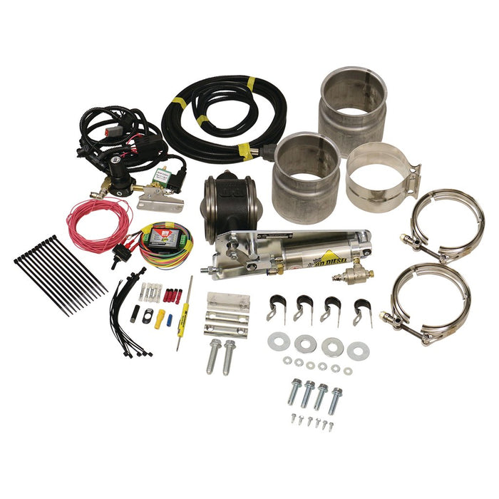 "BD Diesel 1028050 5"" Remote Mount Exhaust Brake"