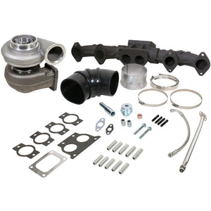 BD Diesel 1048012US ISX Turbo & Manifold Kit S400SX4/75mm Cast 1.32AR