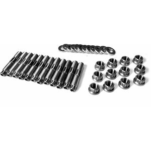Fleece Exhaust Manifold Stud Kit - 4mm Allen Socket Head for 1994-2018 Dodge Cummins 5.9L/6.7L Diesel