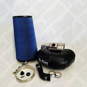 No Limit 64CAIRD5 Raw Cold Air Intake with Dry Filter