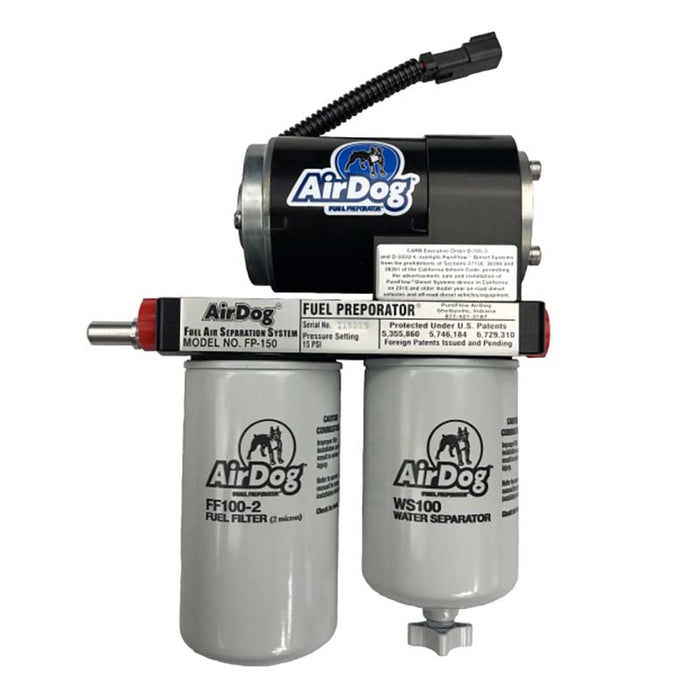 AirDog A4SPBC088 150GPH Air/Fuel Separation System (Moderate to Extreme)