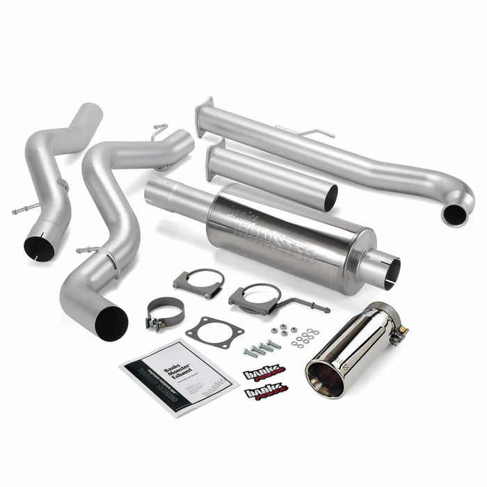 "Banks Power 48629 4"" Single Monster Exhaust System"