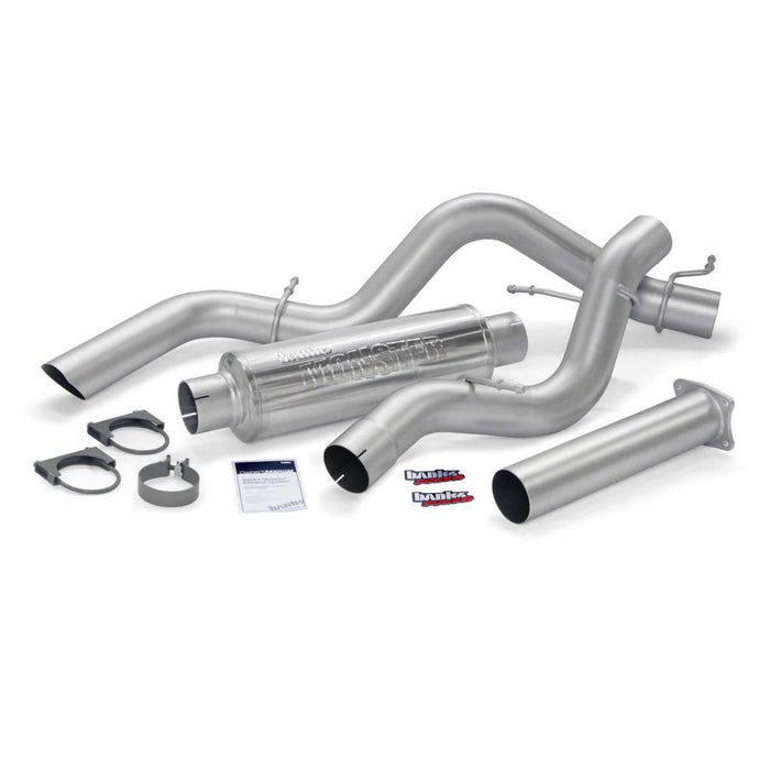 "Banks Power 48771 4"" Single Monster Sport Exhaust System"