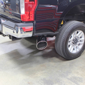 "Banks Power 5"" Single Monster Exhaust System for 2017-2019 Ford Powerstroke 6.7L Diesel (Extended/Crew Cab)"