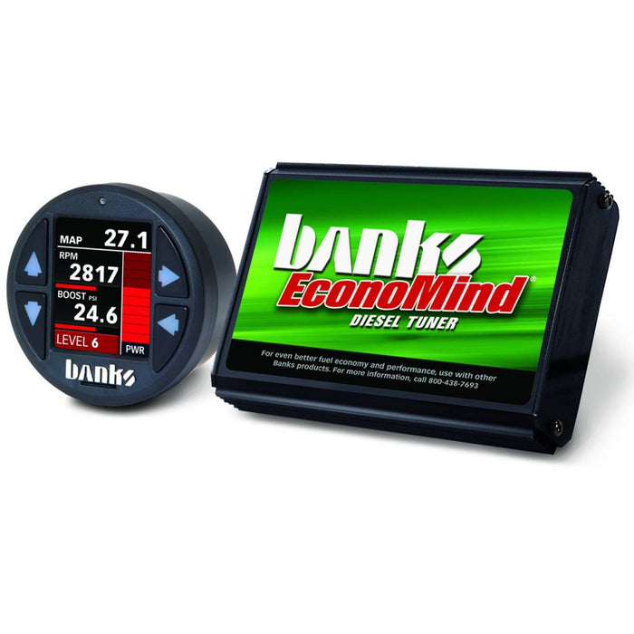 Banks Power EconoMind Diesel Tuner with iDash 1.8 Super Gauge for 2006-2007 GM Duramax 6.6L LBZ Diesel