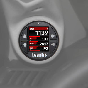 Banks Power SpeedBrake with iDash 1.8 Super Gauge for 2007.5-2010 GM Duramax 6.6L LMM Diesel