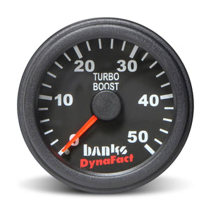 Banks Power 64052 DynaFact 0-50 PSI Boost Gauge Kit
