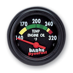 Banks Power DynaFact Engine Oil Temp Gauge Kit for 1994-1997 Ford Powerstroke 7.3L Diesel