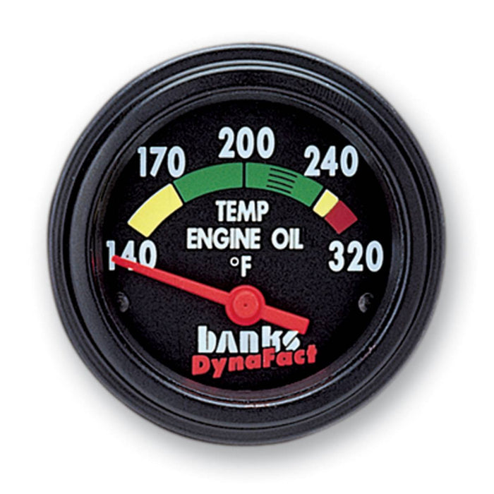 Banks Power 64130 DynaFact Engine Oil Temp Gauge Kit