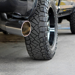 "Banks Power 5"" Single Monster Exhaust System for 2013-2018 Dodge Cummins 6.7L Diesel with Crew Cab & Short Bed"