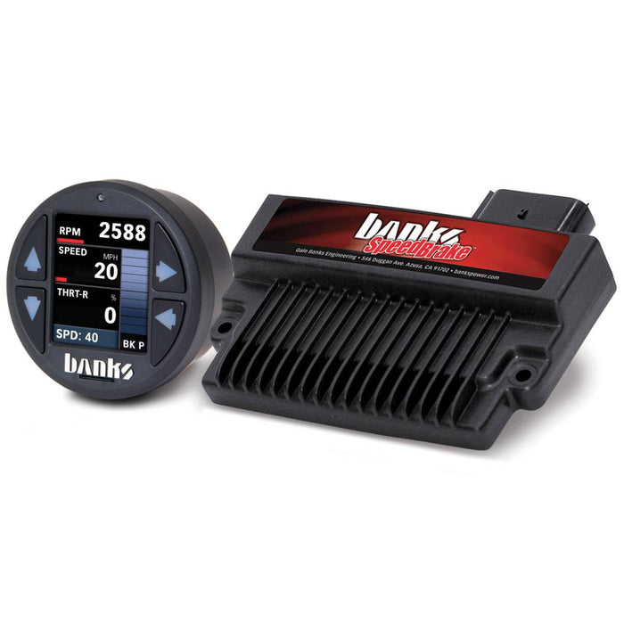 Banks Power 61431 SpeedBrake with iDash 1.8 SuperGauge
