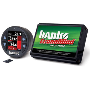 Banks Power EconoMind Diesel Tuner with iDash 1.8 DataMonster for 2006-2007 GM Duramax 6.6L LBZ Diesel