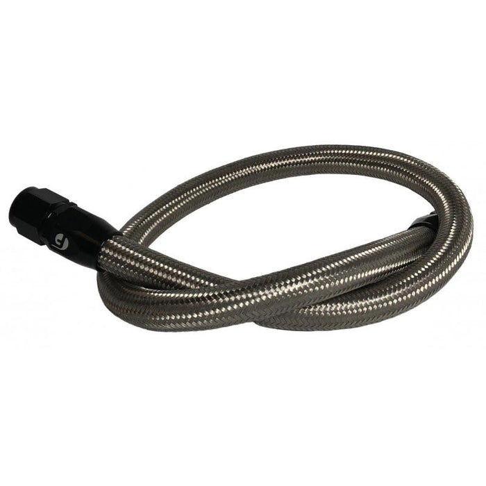 Fleece FPE-CLNTBYPS-HS-CRVP-SS Stainless Steel Coolant Bypass Hose