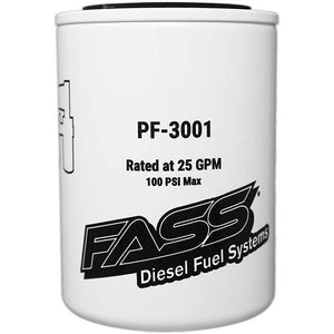 FASS Fuel Particulate Filter for use with FASS Titanium/Signature Series Pumps