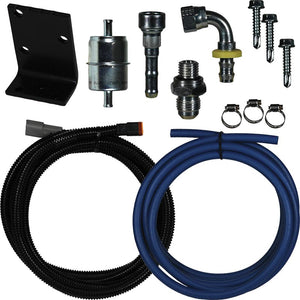 FASS Dodge Replacement Pump Relocation Kit for 1998.5-2002 Dodge Cummins 5.9L Diesel with FASS DRP