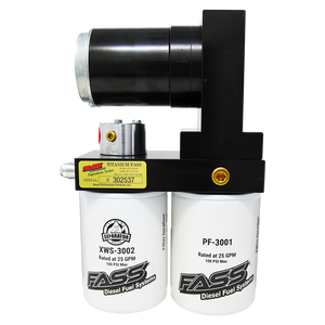 FASS Titanium Signature Series 95GPH Fuel System (Stock to Moderate) for 1998.5-2004.5 Dodge Cummins 5.9L Diesel