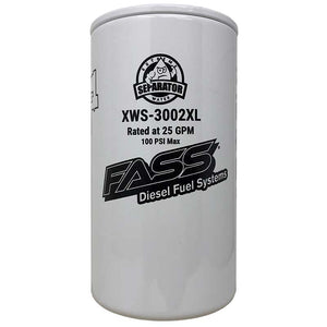 FASS XWS-3002XL Extended Length Extreme Water Separator