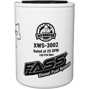 FASS Extreme Water Separator for use with FASS Titanium/Signature Series Pumps