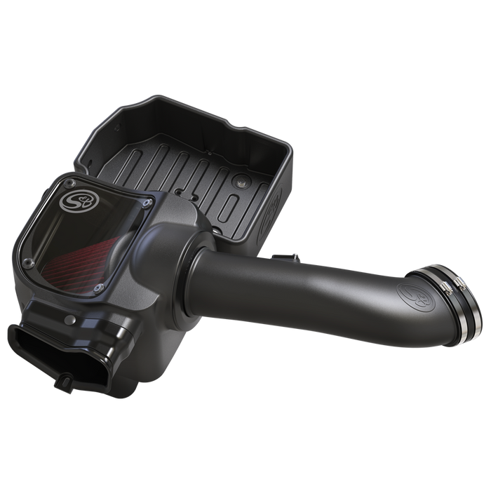 S&B Cold Air Intake with Oiled Filter for 2017-2019 Ford Powerstroke 6.7L Diesel