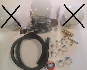 Dfuser Coolant Filter Kit for 2003-2007 Ford Powerstroke 6.0L Diesel