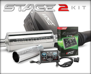 Edge Products 19127-D Stage 2 CTS2 Performance Package (Dry Filter)